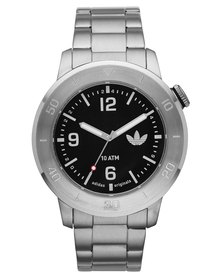 adidas Originals Manchester Stainless Steel Watch Silver
