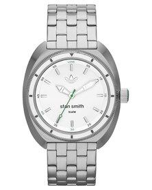 adidas Originals Stan Smith Metal Strap Watch Silver
