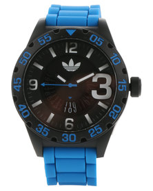adidas Originals Santiago Resin Strap Watch White/Multi