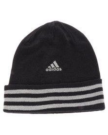adidias Performance Essential 3 Stripes Woolie Black
