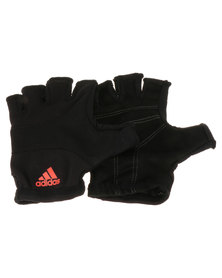 adidas Performance Essential Workout Gloves Black