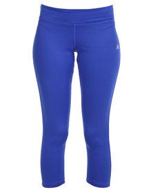 adidas Performance Clima Essential 3/4 Tights Blue