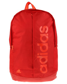 Adidas Performance Linear Performance Backpack Red