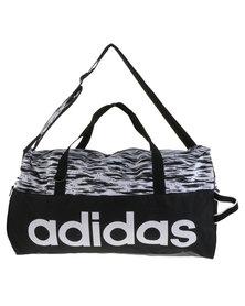 adidas Performance Linear Performance Team Bag Medium Graphic Black
