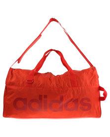 adidas Performance Linear Performance Team Bag Medium Red