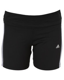 adidas Performance Essential MF 3S Short Tights Black