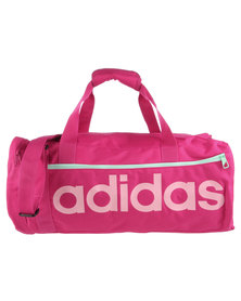 adidas Performance Lin Ess Duffle Bag Pink