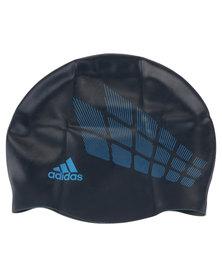 adidas Performance Graphic CPA Swim Cap Blue