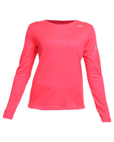 adidas Performance Sequentials Climalite Long Sleeve Tee Red