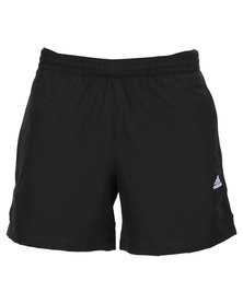 adidas Performance Essentials 3-Stripe Chelsea Shorts Black