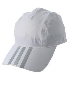 adidas Performance Running Climalite 3S Cap White