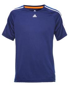 Adidas Performance CL E3S Tee Blue