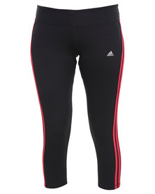 Adidas Performance CLIMA 3SESS Tights Black