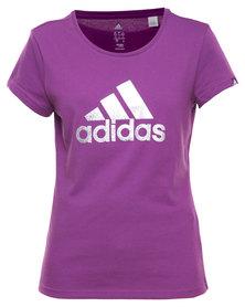 Adidas Performance Perform FO Tee Purple