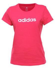 adidas Performance Glam Tee Q12 Pink