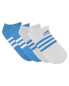 adidas Performance 3 Stripes TM Corpliner Socks 2-Pack Multi