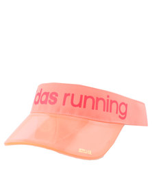 adidas Performance Run Climalite Visor Orange