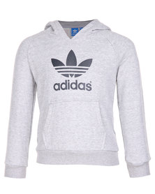 adidas Performance J ADI TF Hoodie Medium Heather Grey