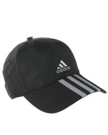 Adidas CL 3S 6P Cap Black