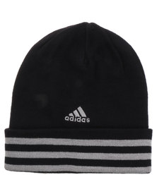 adidas Performance 3 Stripes Woolie Beanie Black