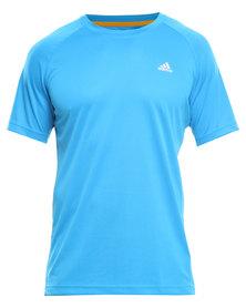 Adidas Performance Climalite Essentials Tee Blue