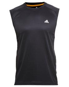 Adidas Performance Climalite Essentials Tank Black