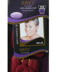 "African Splendor 6"" Afro B Hair Extension Set Dark Red"