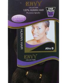 "African Splendor 6"" Afro B Hair Extension Set Chocolate Brown"