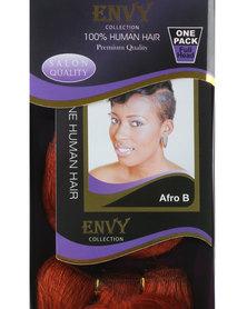 "African Splendor 6"" Afro B Hair Extension Set Copper Red"