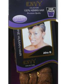 "African Splendor 6"" Afro B Hair Extension Set Dark Brown"