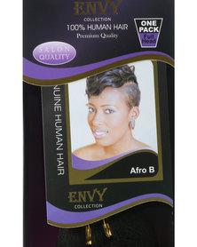 """African Splendor Afro B 6"""" Hair Extension Set Black"""