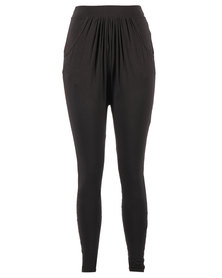 After Eden Contemporary Lounge Pants Black