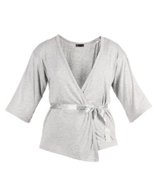 After Eden Contemporary Lounge Cardigan Grey