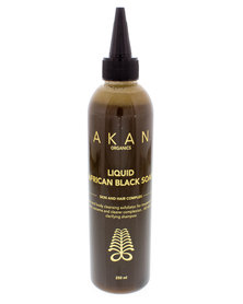 AKAN organics Liquid African Black Soap