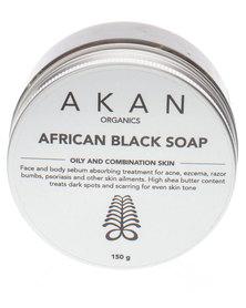 AKAN organics African Black Soap