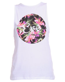 All About Eve Circle of Life Tank White