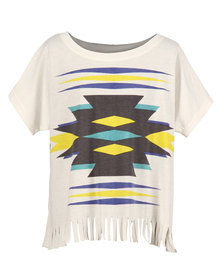 All About Eve Amber T-Shirt White