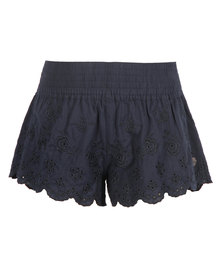 All About Eve Holly Shorts Navy Blue