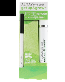 Almay Get Up & Grow Mascara with Free 16 Hour Eyeliner Black