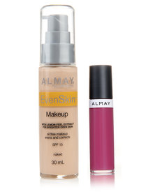 Almay EvenSkin Makeup Naked and Free Lipgloss Pink Pout