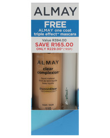 Almay Clear Complexion Makeup Toast & Free Triple Effect Mascara Value Offer