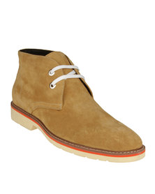 Antoine+Stanley Manhattan Boat Shoes Camel