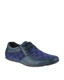 Anton Fabi Lorenti Lace Up Shoes Navy