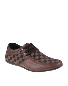 Anton Fabi Lorenti Lace Up Shoes Brown