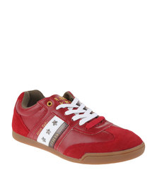 Anton Fabi Cereco Lace Up Shoes Red