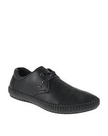 Anton Fabi Casano Lace Up Shoes Black