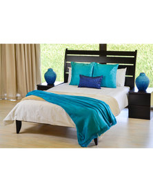 Aranda Top Suede Throw Aquamarine