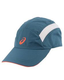 Asics Essentials Cap Ink Blue/ Cone Orange