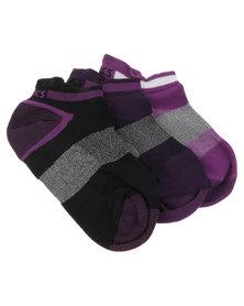 Asics 3 Pack Lyte Socks Multi
