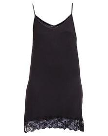 Assuili Strappy Dress Black